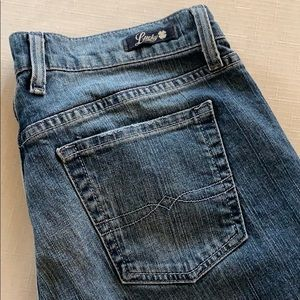 LUCKY BRAND Classic Rider Crop Jeans 30